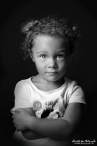 Portrait en studio enfant photo